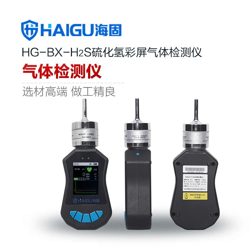 海固HG-DB-H2S硫化氢彩屏单一泵吸式气体检测仪