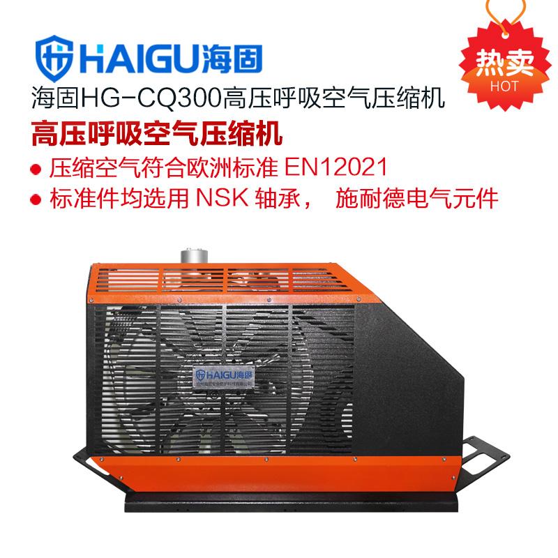 2018新款海固HG-CQ300高压呼吸空气压缩机 正压式空气呼吸器充气泵
